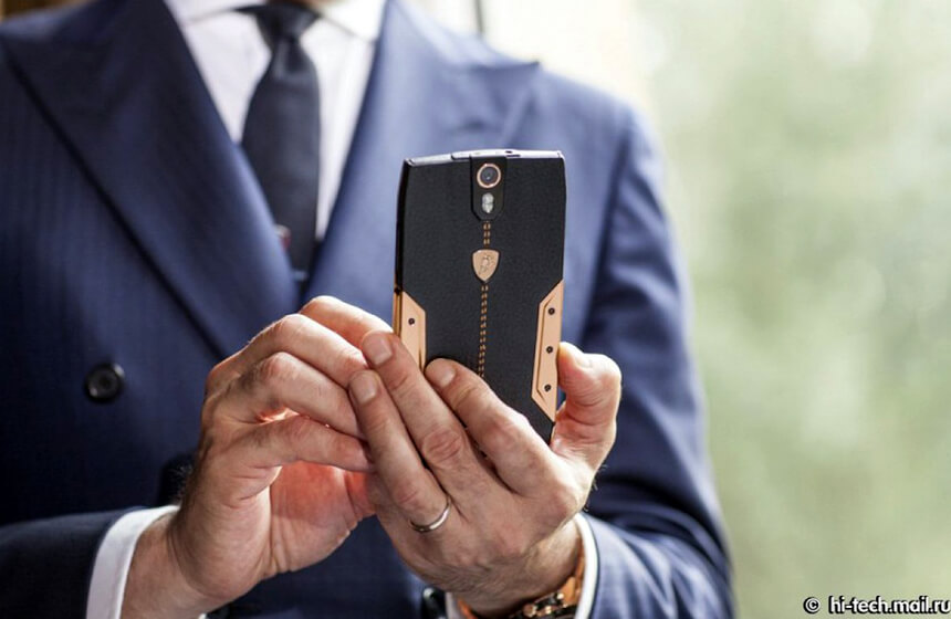 Only The Rich Will Buy The New Lamborghini Smartphone