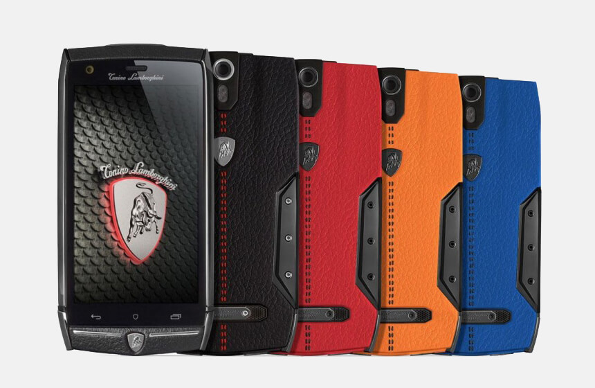 The New Lamborghini Smartphone