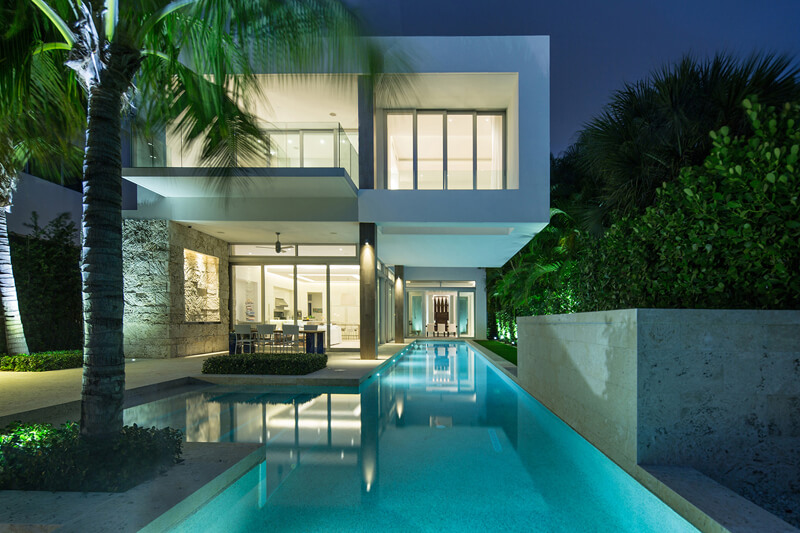 The Perfectly Designed Biscayne Bay Residence - EALUXE | via strang.com