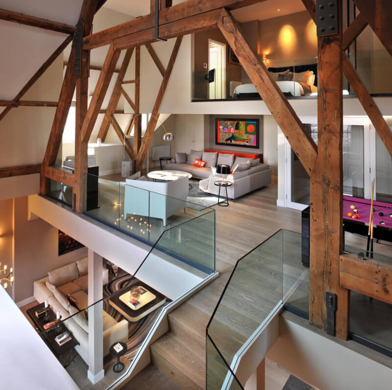 The St Pancras Penthouse Designed by TG STudio 4