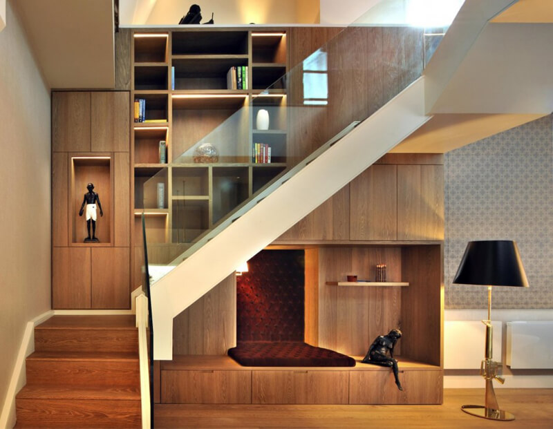 The St Pancras Penthouse Designed by TG STudio 7