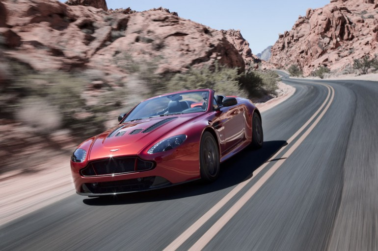 These Photos Will Make You Want to Buy the Aston Martin V12 Vantage S Roadster