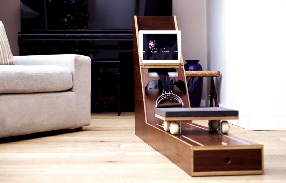 This Side Table Transforms Into a Cool Rowing Machine