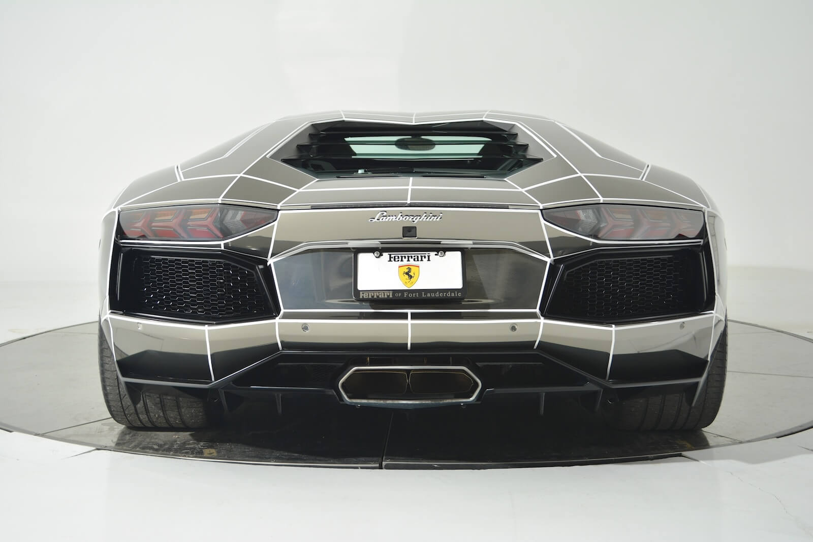 Tron Inspired Chrome Lamborghini Aventador Is On Sale