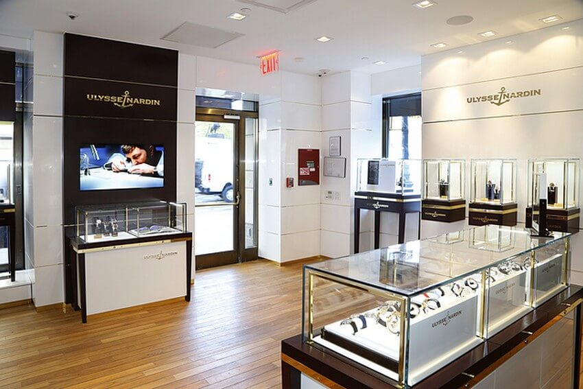 10 Extremely Exclusive Boutiques Worth Traveling for | Ulysse Nardin in New York