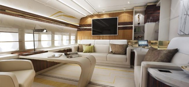 The World's First Private 747-8 Interior Delivered by Greenpoint