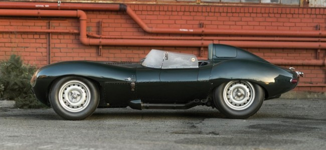 This Amazing 1955 Jaguar D-Type is for Sale