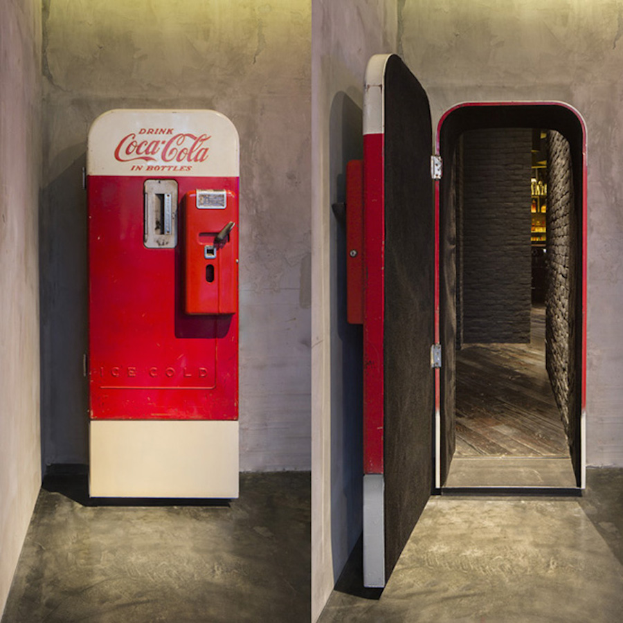 What Hides Behind This Coke Vending Machine is Amazing Cover