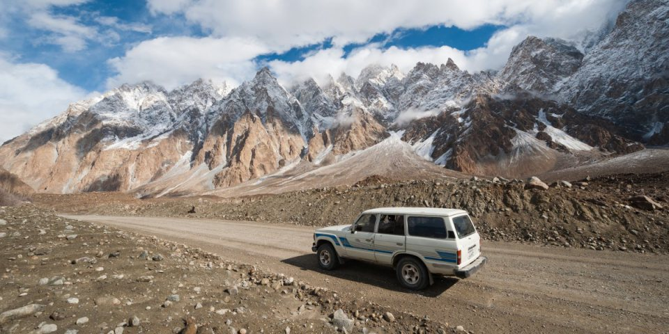 The Karakorum Highway via mixstuff.ru