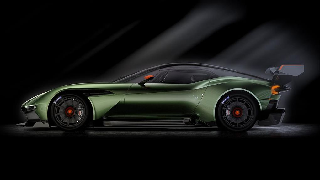 Aston Martin Vulcan Green Luxury Car Alux