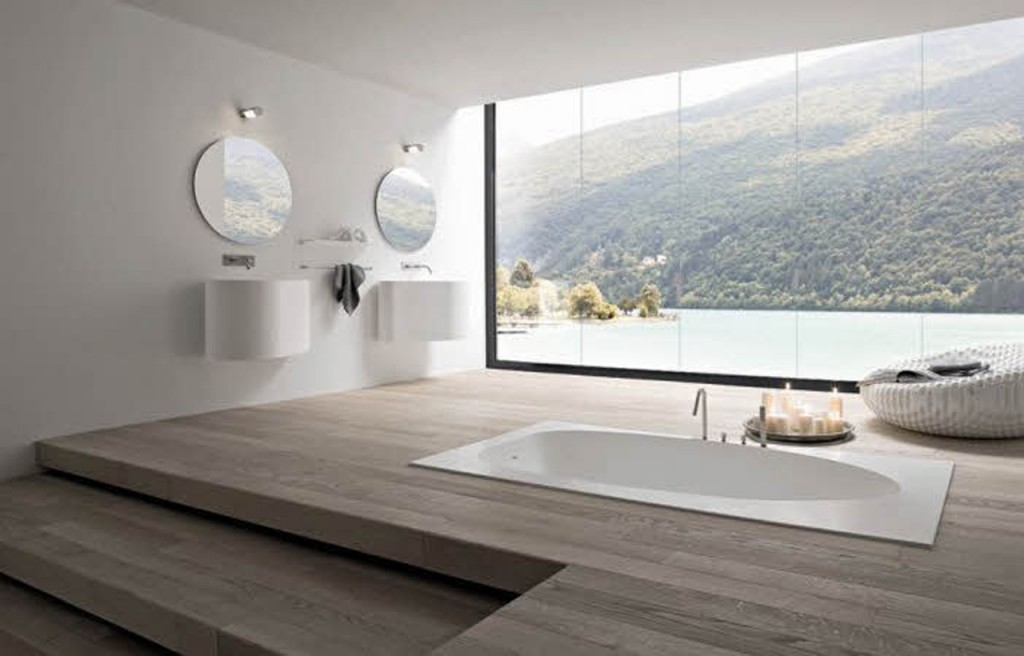 via futomicdesigns.com 15 Luxury Bathroom Pictures & Design Ideas for Your  Modern Home