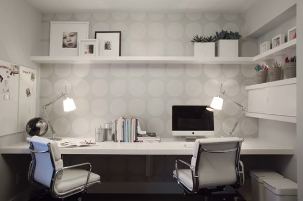 10 Awesome Shared Home Office Design Ideas