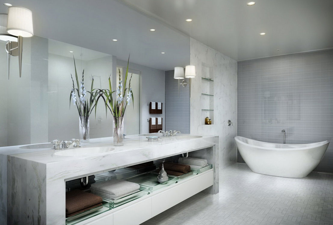 luxurious bathroom design ideas for your modern home - Luxury Bathroom
