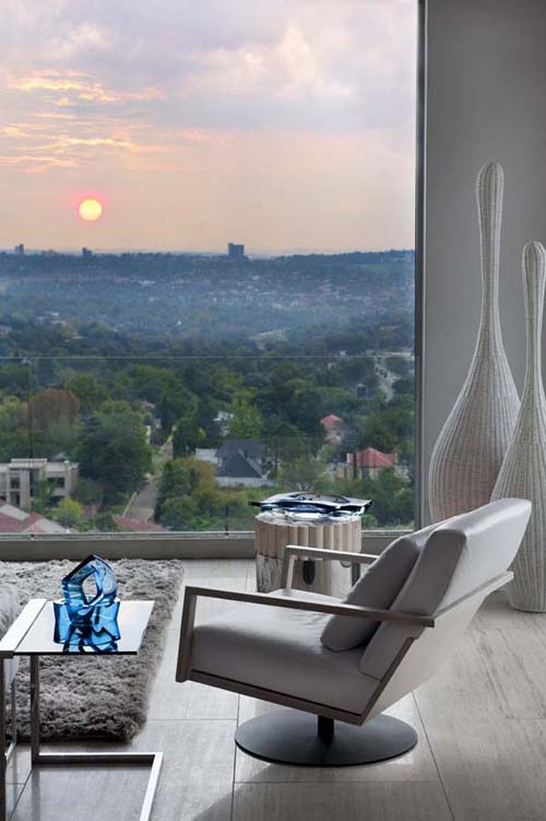 Luxury Three-Level Penthouse in Johannesburg - EALUXE