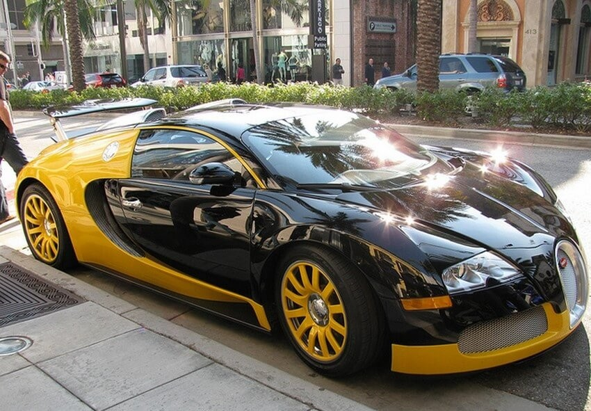 6 Famous Bad Boys who Own a Bugatti Veyron | The Game's Bugatti Veyron