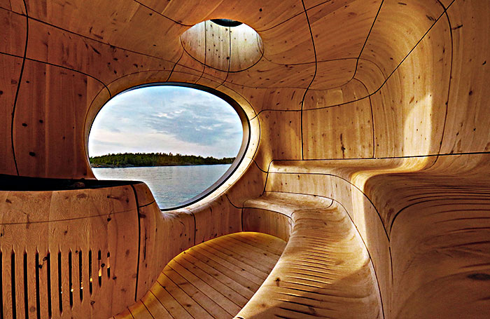 This Might Just be the Most Amazing Sauna You Have Even Seen