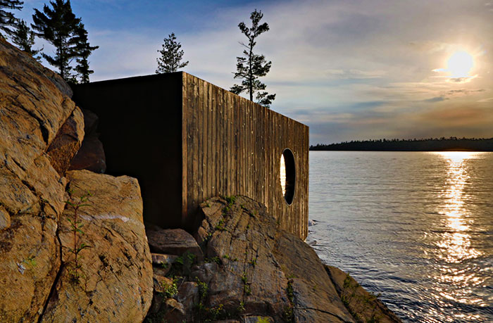 This Might Just be the Most Amazing Sauna You Have Ever Seen