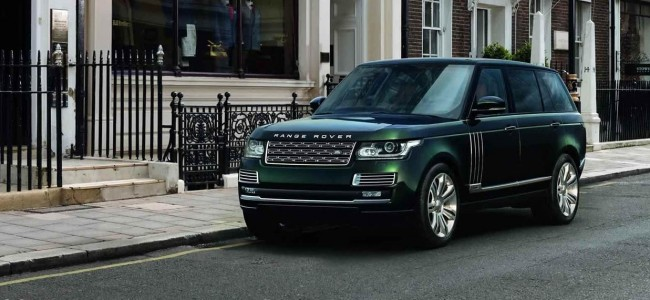 Check Out the New Holland & Holland Range Rover