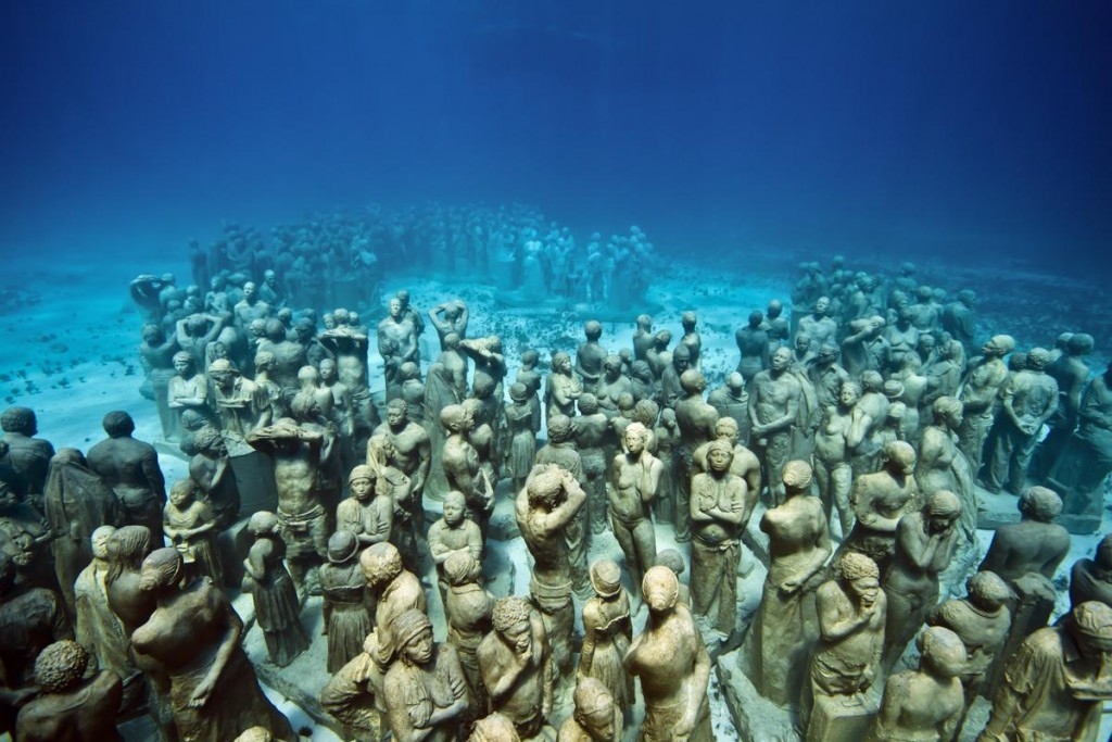 Isla Mujeres, Mexico - Photo by Jason Decaires Taylor