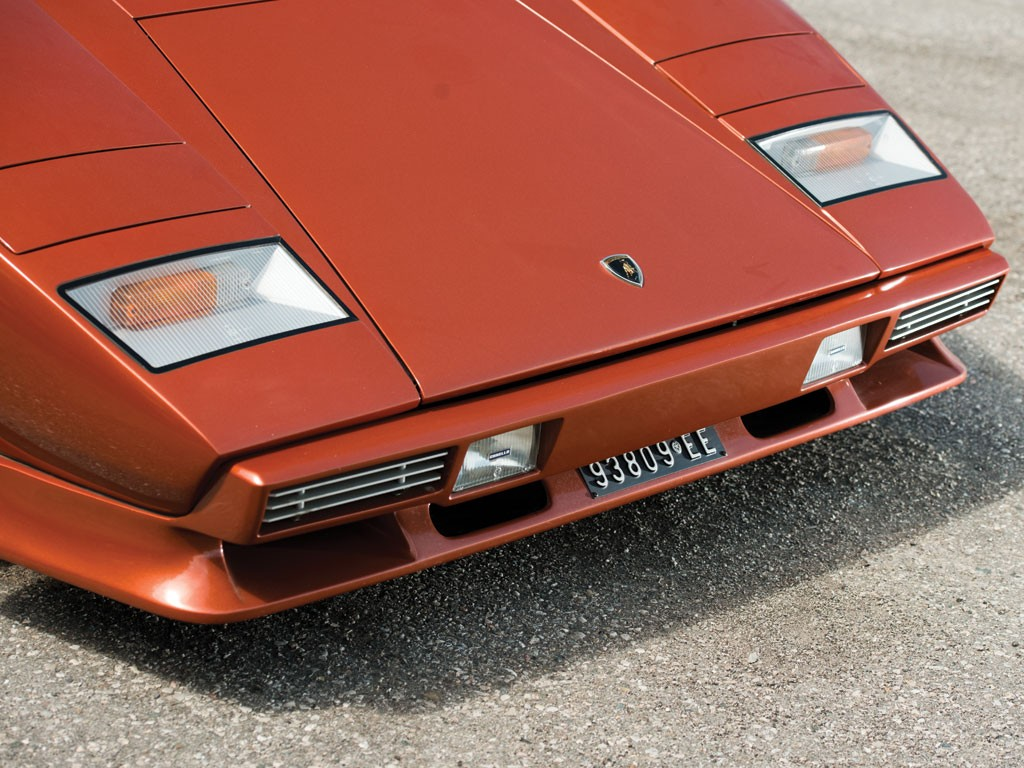 1979 Lamborghini Countach LP400S Series I Sold at Auction