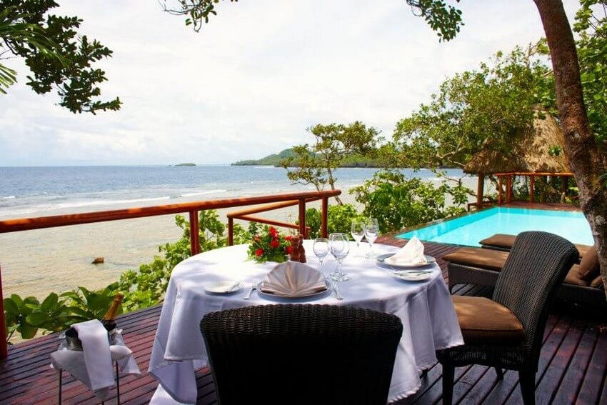 You Will Want to Check-in at Fiji's Top Rated Resort | Private Lunch