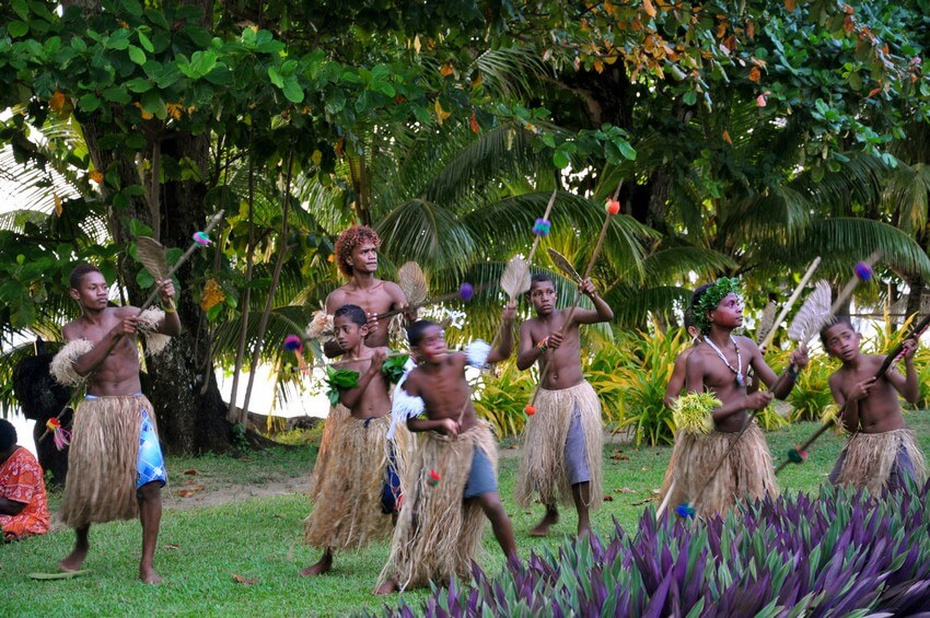 You Will Want to Check-in at Fiji's Top Rated Resort | Meke Dance Tradition