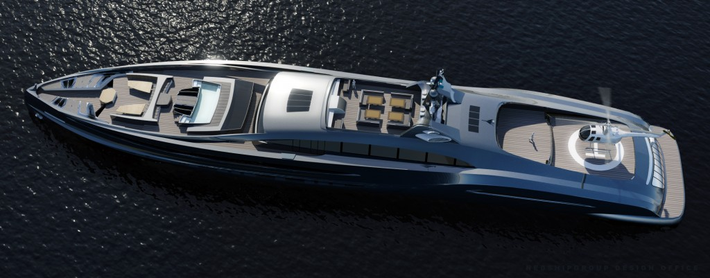 These 10 Futuristic Yachts are Every Rich Man's Dream