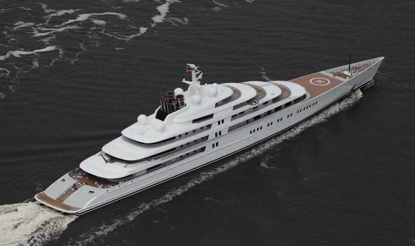 You Can Have the New World's Largest Private Yacht for over $1 Billion | Azzam