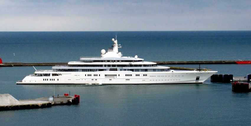 You Can Have the New World's Largest Private Yacht for over $1 Billion | Eclipse