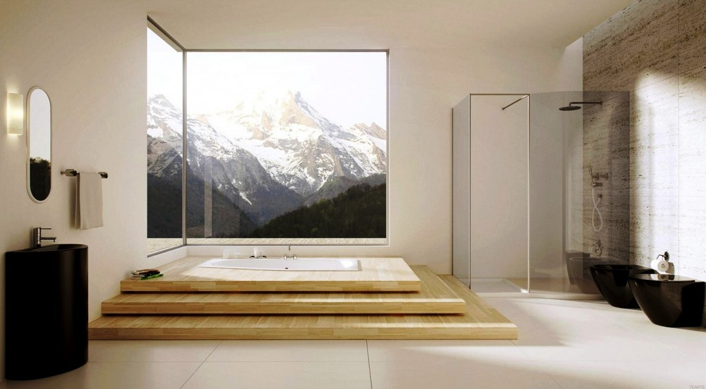 via myartomatcom luxurious bathroom design ideas for your modern home - Luxury Bathroom