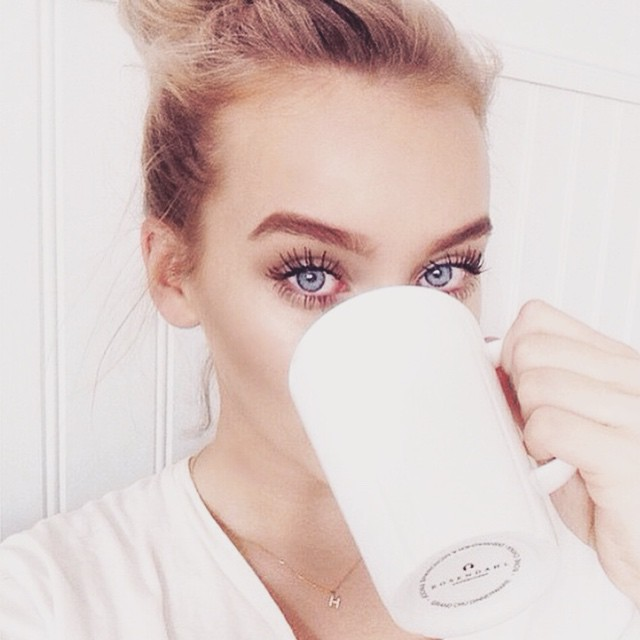 This Instagram Only Posts Women Drinking Coffee