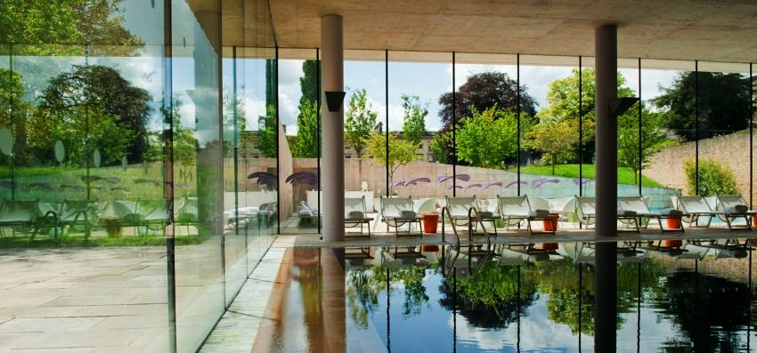 #10 Cowley Manor, Gloucestershire  These Are the 10 Best Hotel Spas in the UK via goodspaguide.co.uk