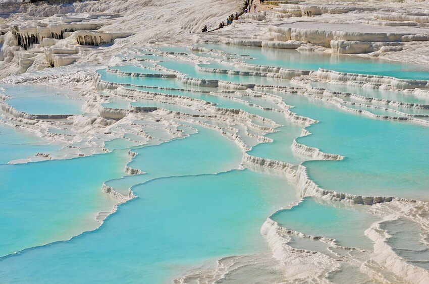 You Have to Visit These Marvelous Places to Believe They Actually Exist | Pamukkale, Turkey