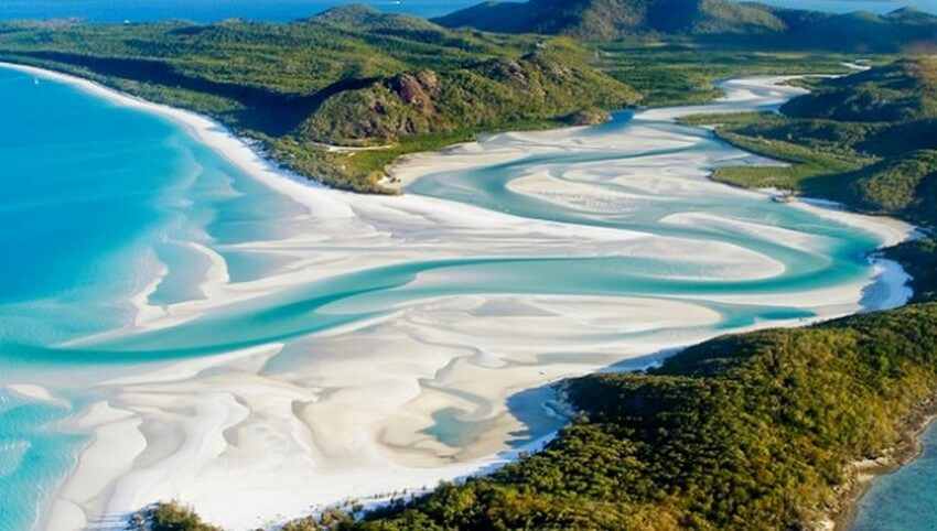 You Have to Visit These Marvelous Places to Believe They Actually Exist | Whitehaven Beach, Australia