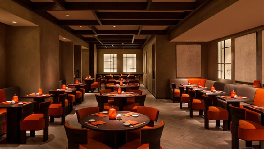 Luxurious Designer Restaurants that You Have to Try out   Armani: Armani Nobu, Milan