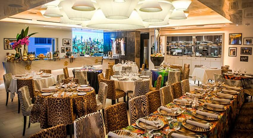 Luxurious Designer Restaurants that You Have to Try out | Roberto Cavalli: Cavalli Restaurant&Lounge, Miami