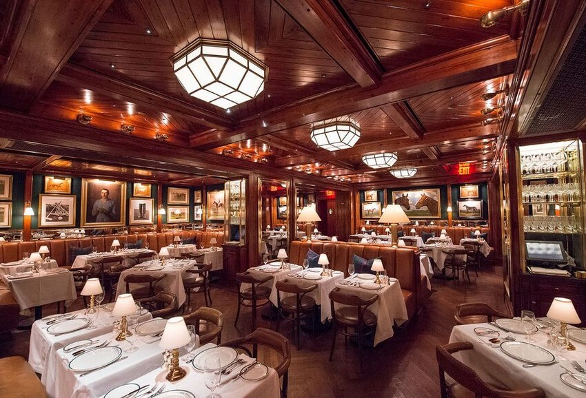 Luxurious Designer Restaurants that You Have to Try out | Ralph Lauren: Polo Bar, New York City