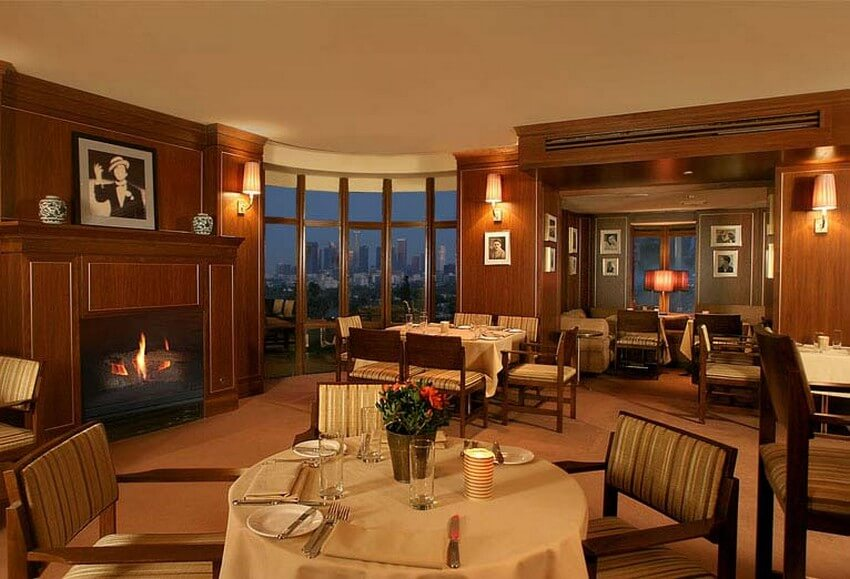 Meet Famous Couples in These 4 Luxurious Restaurants | Tower Bar at Sunset Tower Hotel, Los Angeles