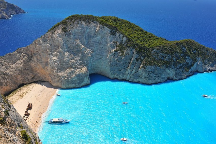 You Have to Visit These Marvelous Places to Believe They Actually Exist | Zakynthos Island, Greece