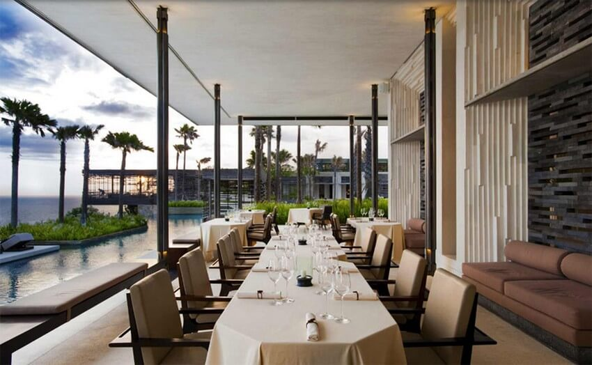 The Alila Villas in Bali Can Offer You Luxury at Its Best | Cire Restaurant