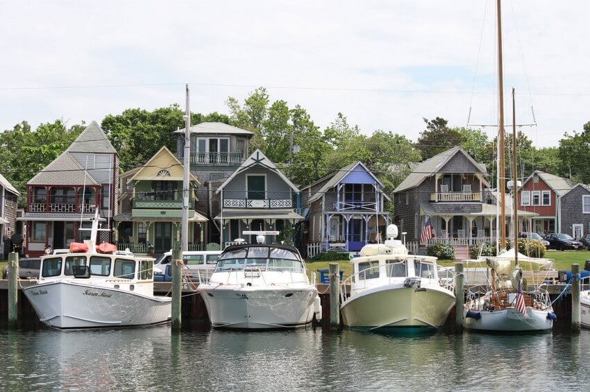 10 Charming New England Towns You Can't Miss | Oak Bluffs, Massachusetts