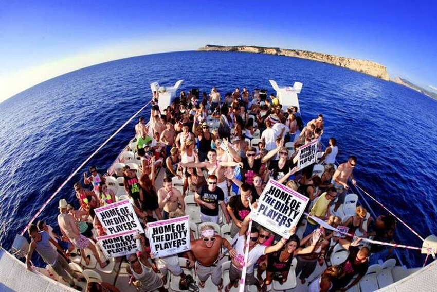 Spend the Craziest Weekend of Your Life in the Heart of Ibiza | Boat Party