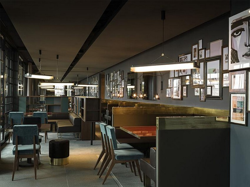 Luxurious Designer Restaurants that You Have to Try out   Dsquared2: Ceresio 7, Milan