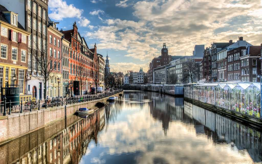 Amsterdam Canal - Photo by Lies Thru A Lens