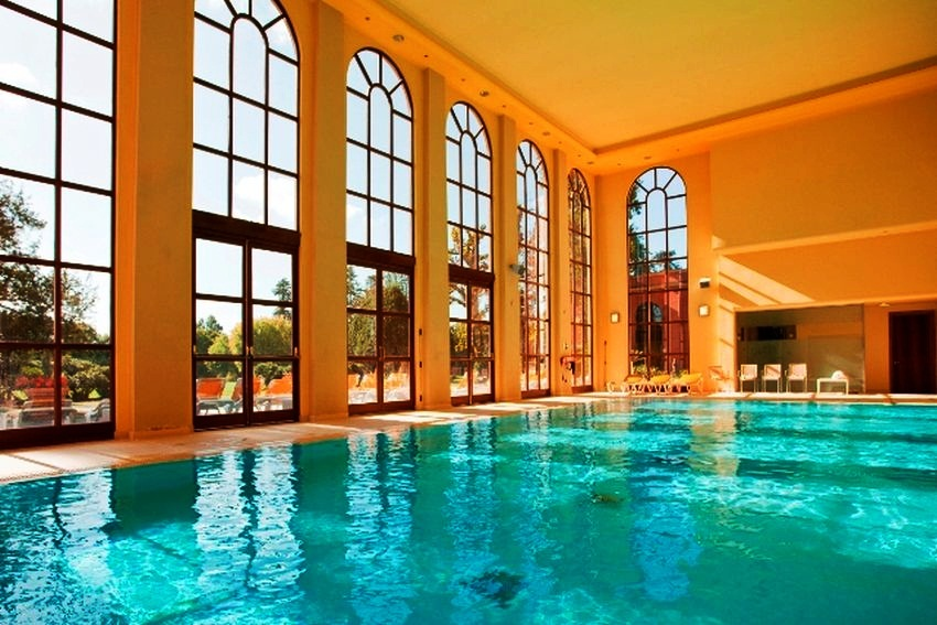 #9 Stoke Park, Buckinghamshire  These Are the 10 Best Hotel Spas in the UK via thespaman.co.uk