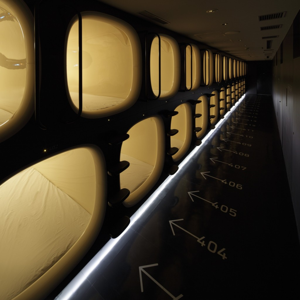 Step Inside This Awesome Capsule Hotel in Kyoto