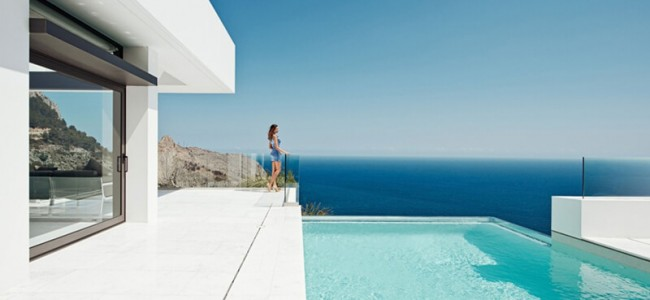 Live Like The Billionaires In A Modern Mansion Built On The Cliffs Of Altea