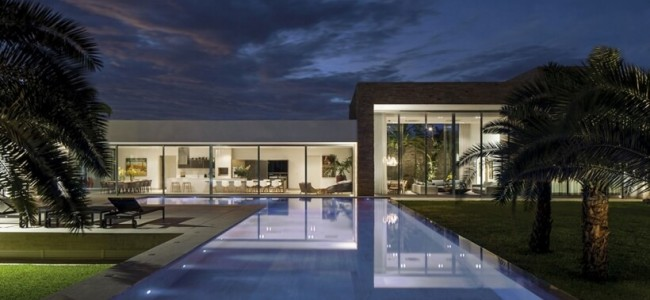 More Minimalism And Simplicity With Casa TB Designed By Aguirre Arquitectura