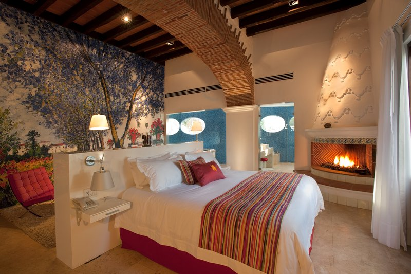 Colonial-style Manor House in Mexico: Anticavilla Hotel