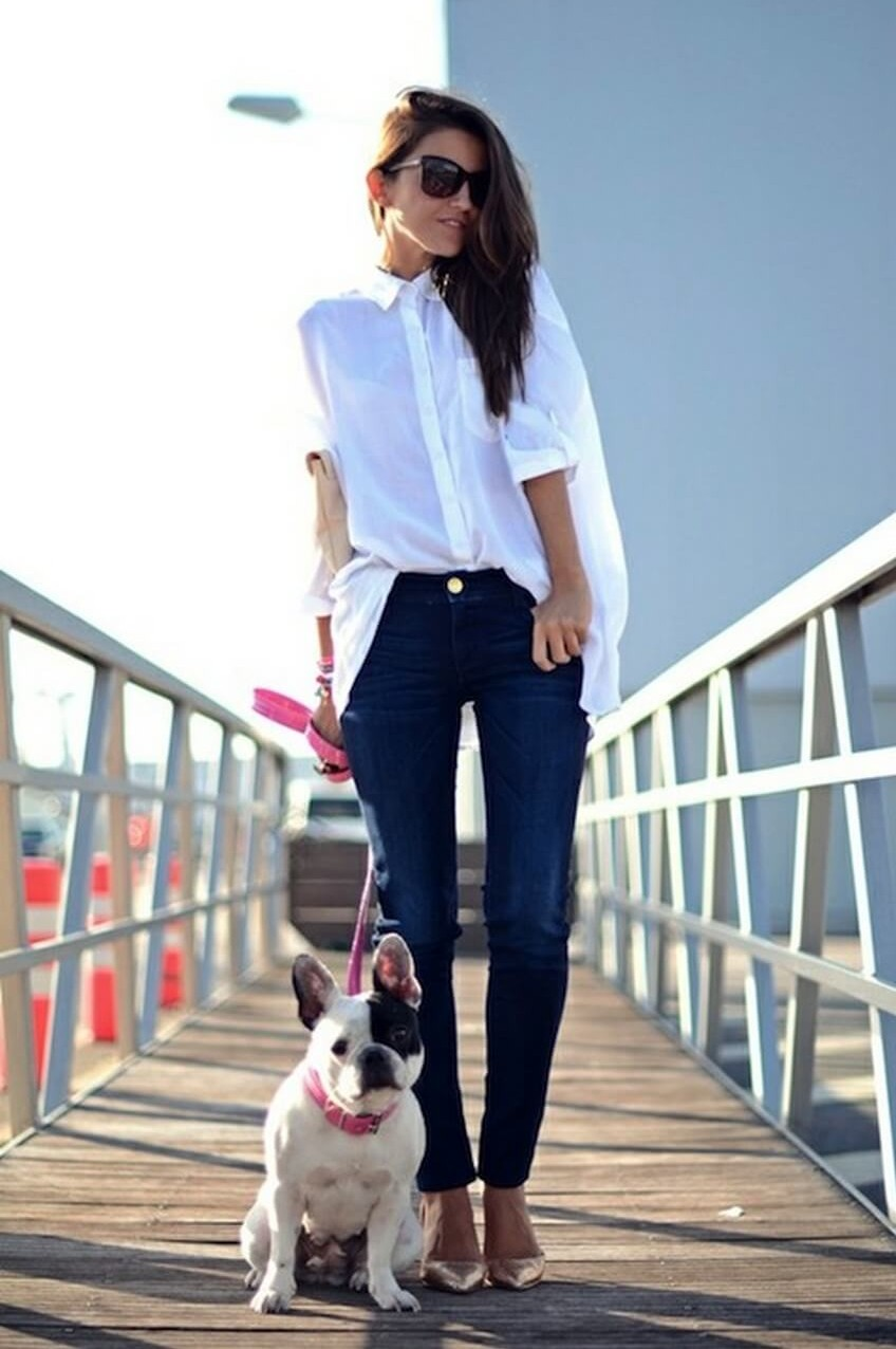 10 Must-Have Clothing Items Every Woman Should Own | A Classy White Shirt